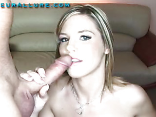 Torrie is a 19 year old little angel with a marvelous face hole made for fun. This Playgirl actually enjoys having a 10-Pounder in her face hole and proves it in a large way. That Playgirl sucks a huge strapon and swallows down a huge load and leaves with a smile.