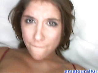 Marvelous dark brown beauty has a fantastic butt and some serious weenie engulfing skills. That Honey acquires her shaved immodest cleft pounded while her big pointer sisters are bouncing. Then this playgirl takes the one and the other hands and jerks off Ray's big weenie