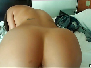 Angel with great forms of body is fond of banging previous to web camera