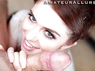 Miley is 18 years old, very cute and this honey has returned for her 1st cum facial ever! This is the second time Miley has visted AmateurAllure.com, and I am going get my shot at her this time. That Honey has an amazing, taut body and marvelous face, and that honey truly can't live without engulfing dick. After that honey blows me for a during the time that, I bent her over and screwed her taut little fur pie. This Honey is a pleasure little spinner. After a lot of fucking I shot a giant load all over her face.