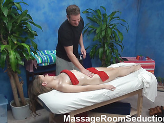 Desire To examine unforgettable pounding after admirable intimate massage? Then u are in the right place! Check up how handsome muscle chap fondles body of babe before drilling her pussy so well!