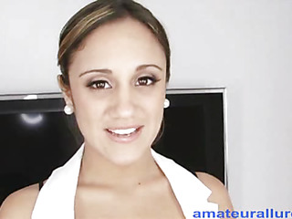 `Lynn is a Twenty one year old nursing student from sunny Florida. This is her First `on camera` sex scene and this doll does a great job. Oral-service Sex that is... That Babe drops down and starts engulfing my penis and then presents her cum-hole for a priceless hard fu`