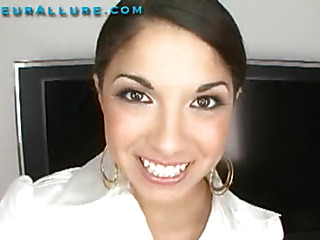 Madaline is Twenty years old, and currently enrolled as nursing student at a nearby community college. This is her 1st time having sex on camera. I had her blow me and I face fucked her silly. Then I slid my hard 10-Pounder into her taut juicy cunt and fucked her hard. Then I shot my load in her face hole and that chick swallowed it down.