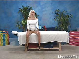 Hawt Eighteen year old gal receives screwed hard by her massage therapist!