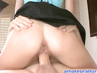 Zoe is an absolute beauty. That Hottie is a tall darksome brown with short hair that was a professional mainstream model. That Hottie has always liked swallowing cum and did so on her very 1st oral-job stimulation. Ray slides his ding-dong into her soaked throat and procedes to face fuck her. Then that stud bows her over and bonks her taut bald pussy doggystyle in advance of shooting his cum on her taut tummy and scooping it up with a spoon and feeding his cock juice to her.