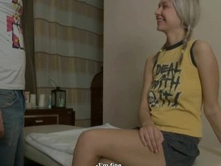 Angel acquires her bra buddies mashed and bawdy cleft screwed by excited dude