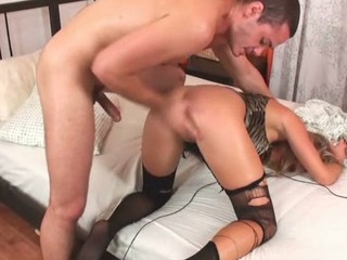 The chick could receive meaty orgasms solely from anal fucking