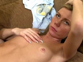 Gorgeous darling acquires lusty plowing from lascivious man