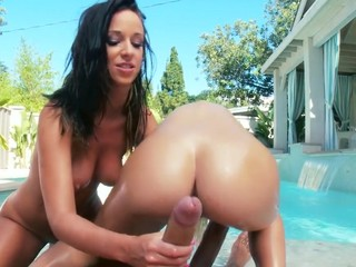 2 of the greatest butts of the industry, jointly in one scene. They know how to shake it, how to engulf it and how to fuck it! Those 2 girls are incredibly hawt, and when they are jointly they make the perfect match!