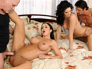 Hot chicks have a enjoyment sharing their sexually horny husbands dicks for enjoyment !