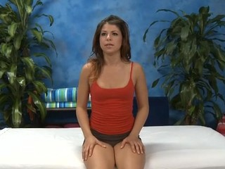 Hawt hawt babe fucks and sucks her massage therapist