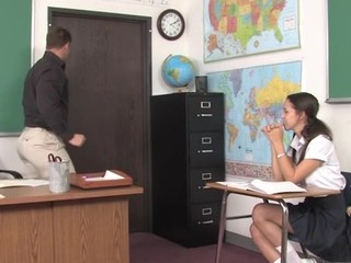 Teacher thinks it's time for his student to try a aged ramrod