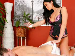 Sweet Christina Jolie Has Very Worthwhile Massages Techniques!