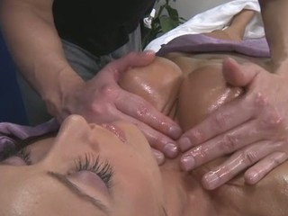 Sexy 18 year old receives drilled hard by her massage therapist