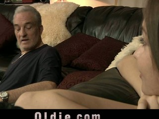 Mika is no greater amount that little angel who old fellow David knew about. She is now a youthful charming gal who discovered sex and search schlongs for fuck. His old dick is ideal to experiences a youthful chocolate hole