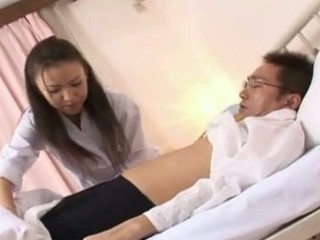 Shinobu Todaka acquires felt out by a doctor here letting him mess with her lovely unshaved slit and then that honey ends up getting fucked like mad!